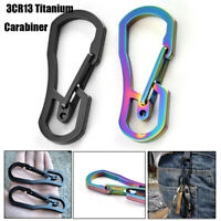 Tool Accessories Key Ring Hook Climbing Carabiner Keychain Holder Camping Clip