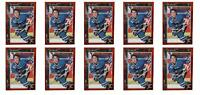 (10) 1992 Legends #10 Pat Falloon Hockey Card Lot San Jose Sharks