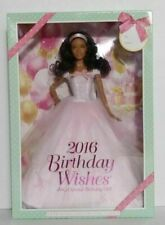 Mattel DGW31 Barbie Birthday Wishes 2016 Doll Dark Brunette