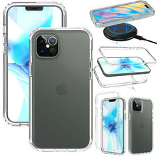 For Apple iPhone 12/Pro/Max 5G 2020 Case Clear Slim Hard Shockproof Phone Cover