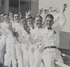 1939 Young Men San Francisco Slide Railing 4H Dairy Scholarship Press Photograph