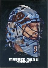 09/10 BETWEEN THE PIPES MASKED MEN II MASK SILVER #MM-04 PATRICK ROY *44339