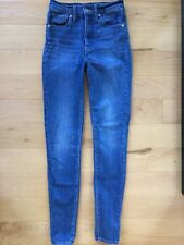 Levi's Mile High Super Skinny Jeans Shut The Front Door Wash 25 EUC