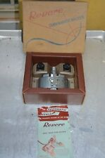 REVERE Curvamatic Film Splicer 8mm and 16mm In Original Box with Manual