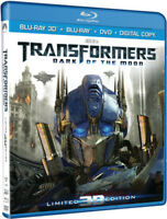 Transformers: Dark of the Moon [New Blu-ray 3D] Boxed Set, Ultimate Edition, U