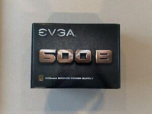 EVGA 600 B 80+ Certified Bronze 600W ATX12V/EPS 12V Power Supply