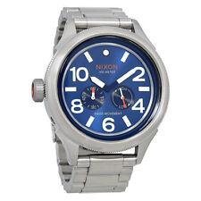 Nixon October Tide Blue Sunray Dial Mens Watch A4741258