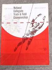 NCAA COLLEGE TRACK and FIELD CHAMPIONSHIPS PROGRAM - 1955 - EX+