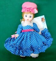 "VINTAGE MADAME ALEXANDER 8"" DOLL ""MISS MUFFET"" #452 WITH ORIGINAL BOX"