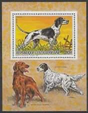 Centraal Afrika postfris 1986 MNH - Honden / Dogs (hb026)