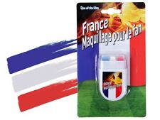 Maquillage Supporter France stick Bleu Blanc Rouge allez les bleus stade 00/0607