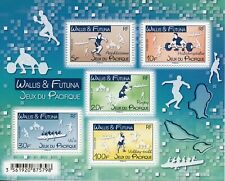 Wallis & Futuna Sports Stamps 2019 MNH Pacific Games Rugby Volleyball 5v M/S