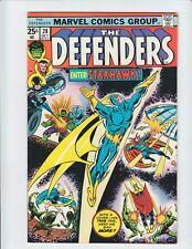 THE DEFENDERS #28 (Marvel, 1975)  NM- 9.2 1st full appearance of Starhawk! KEY!
