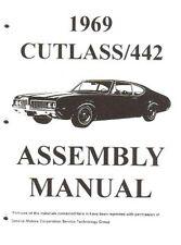 OLDSMOBILE 1969 Assembly Manual 69 Cutlass 442