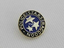 RESIDENT EVIL STARS S.T.A.R.S. RACCOON POLICE LAPEL PIN OR BADGE TIE PIN