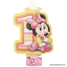 Minnie Mouse Baby BLOWOUTS 1st First Birthday Decoration Party Supplies Girl x8