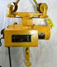 P Amp H Zip Lift 2000 Lbs Cable Hoist Tool Cornering Trolley 1hp 220440v 3ph