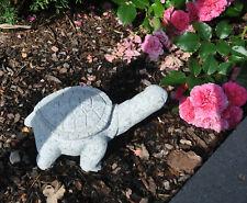Stilvolle Stein-Figur Korallroter Fisch aus Granit Dekoration für Haus /& Garten
