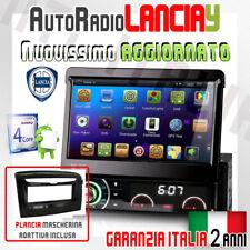 "AUTORADIO 7"" ANDROID Navigatore MP3 Lancia Y Ypsilon dal 2012 OBD DVD GPS +MA..."