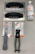 USED HDX Tool Set 2-Trowels, Roller Bottle, Tile Nipper and Scoring Knife