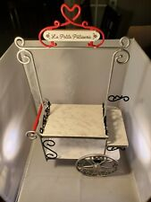 American Girl Bakery Stand Food CART ONLY Retired 2015 La Petite Patisserie