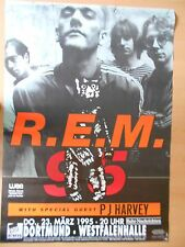 R.E.M.  1995 DORTMUND orig.Concert Poster - Konzert Plakat 118 x 84 cm XX