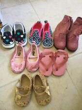 baby girl shoes size 3 lot