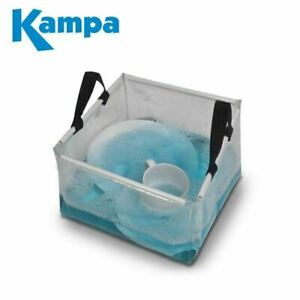 Kampa Foldable PVC Wash Bowl Camping Caravan
