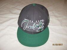 Notre Dame Fishing Irish Snapback Hat Cap Mens One Size 47 Brand NCAA ND