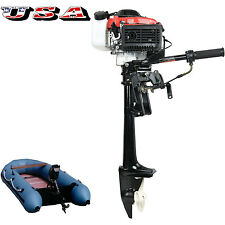 4HP 38CC 4 STROKE BOAT ENGINE WITH AIR COOLING SYSTEM  OUTBOARD MOTOR US