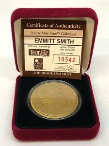Highland Mint Emmitt Smith with Case 10542/25000!