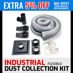 Wood Dust Collection Kit Collector Accessories Work Shop Hose Parts Collecter