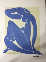 Henri Matisse Litografia cm 50x70 con certificato edizione 1995