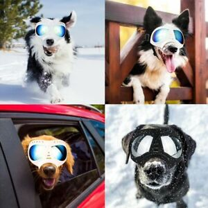 Dog Sunglasses UV Protection Wear Windproof Glasses Pet Eye Protective Goggles