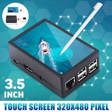 Für Raspberry Pi 4B 480 320 3.5'' TFT LCD Touchscreen Display Bildschirm + Hülle