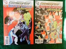 LOT OF TWO (2)  DIFFERENT *JUSTICE LEAGUE - GENERATION LOST* COMICS - #7 & 8!