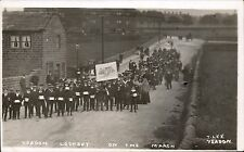 Yeadon Lockout. On the March by T.Lee, Yeadon. Strike.
