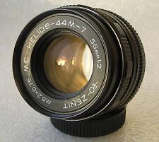 MC HELIOS 44M-7 2/58 M42. 6 aperture blad. Russian Lens Zenit USSR