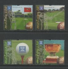 Thematic Stamps Sports - MALAYSIA 1999 GOLF WORLD CUP 4v (SPORT) mint