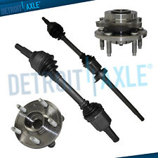 Front Inner /& Outer CV Axle Boot Kit for Lincoln MKT w// 3.5L V6 Engine 2010-2018