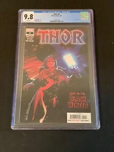 Thor #5 2020 CGC 9.8 NM/M (White Pages) 1st Black Winter 1st PRINT