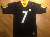 Reebok  Ben Roethlisberger #7 Pittsburgh Steelers Jersey Mens sz M