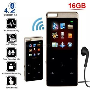 128GB Bluetooth MP4/MP3 Lossless Music Player FM Radio Recorder Sport Portable