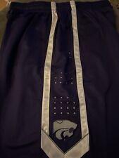 Kansas State Wildcats 2Xl Nike Purple Basketball Practice Shorts