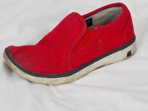 BOGS Malibu Slip On Canvas Shoes Little Kids Boys Sz 10 Slip On Loafers Sneakers