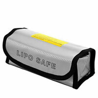 185X75X60mm Lipo Battery Bag Safe Bag Fire Protection Fireproof Safety Bag