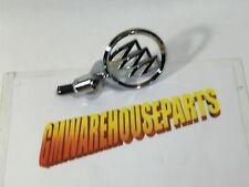 "2004-2005 BUICK PARK AVENUE CHROME ""TRI-SHIELD"" HOOD ORNAMENT NEW GM #  25746035"