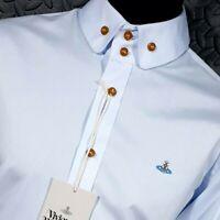 ⭐ Mens Vivienne Westwood Man tailored fit premium shirt size 48 UK 38-40 medium