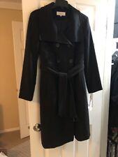 Calvin Klein Black 3/4 Length Coat. Sz Small. NWT!!