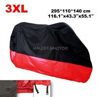 Motorcycle Cover Bag XXXL Red For Honda Gold Wing GL 1100 1200 1500 1800